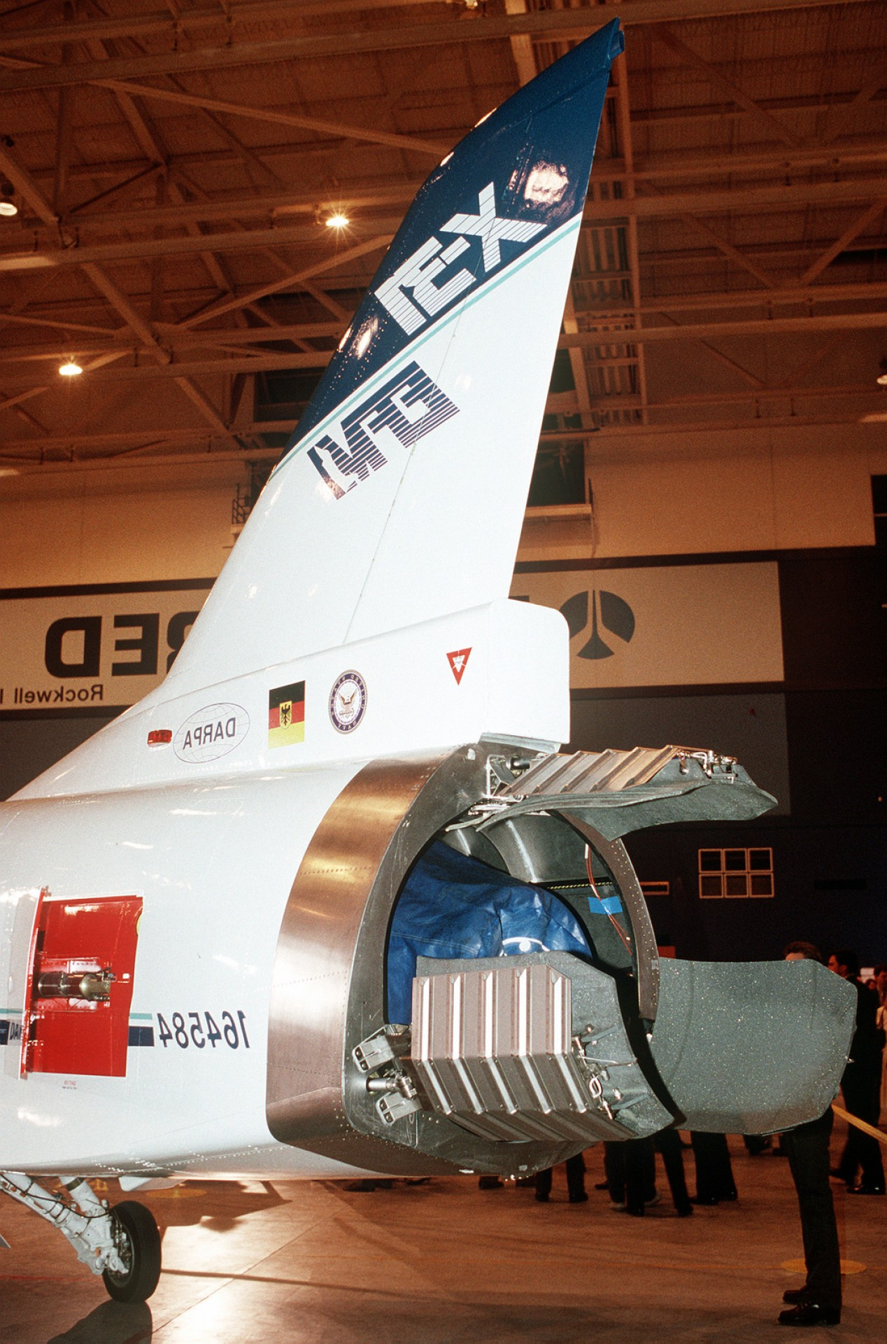 Jet Boat Thrust Vector: A Close Up View Of The Thrust Vector Control Systems Of The X Enhanced Fighter F