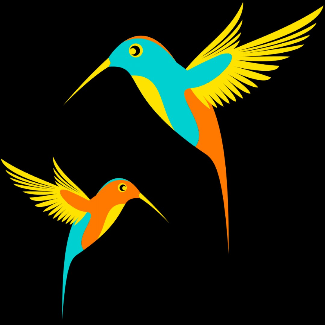Bird In -Flight Vector Image: A Filtered Collection Of Bird Vector Images