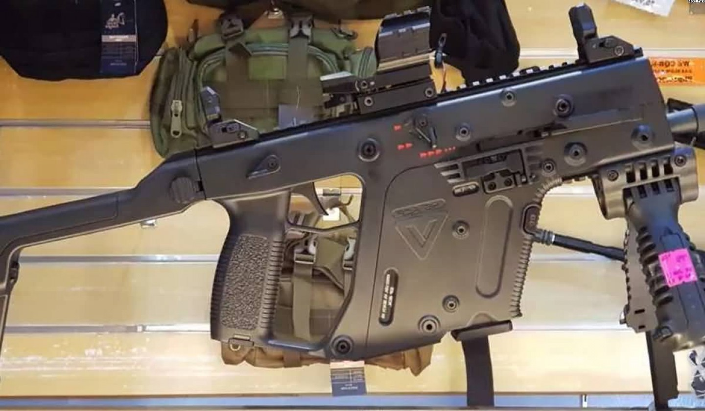 Vector Kriss Scope: A K Kriss Vector Electric Rifle