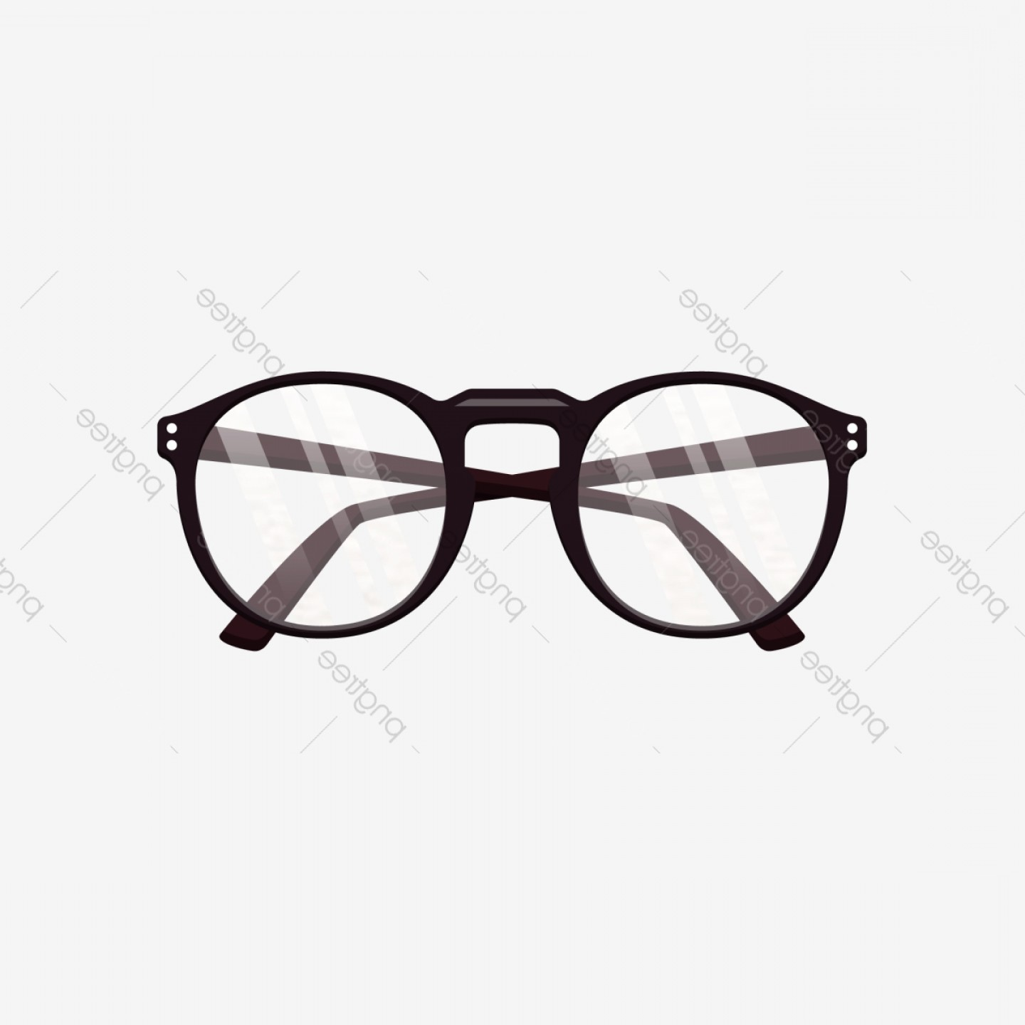 Reading Glasses For Men Vector: A Pair Of Reading Glasses Is Commercial Element
