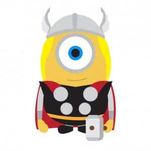 Despicable Me Vector Piranha: A Flower For A Lovely Lady