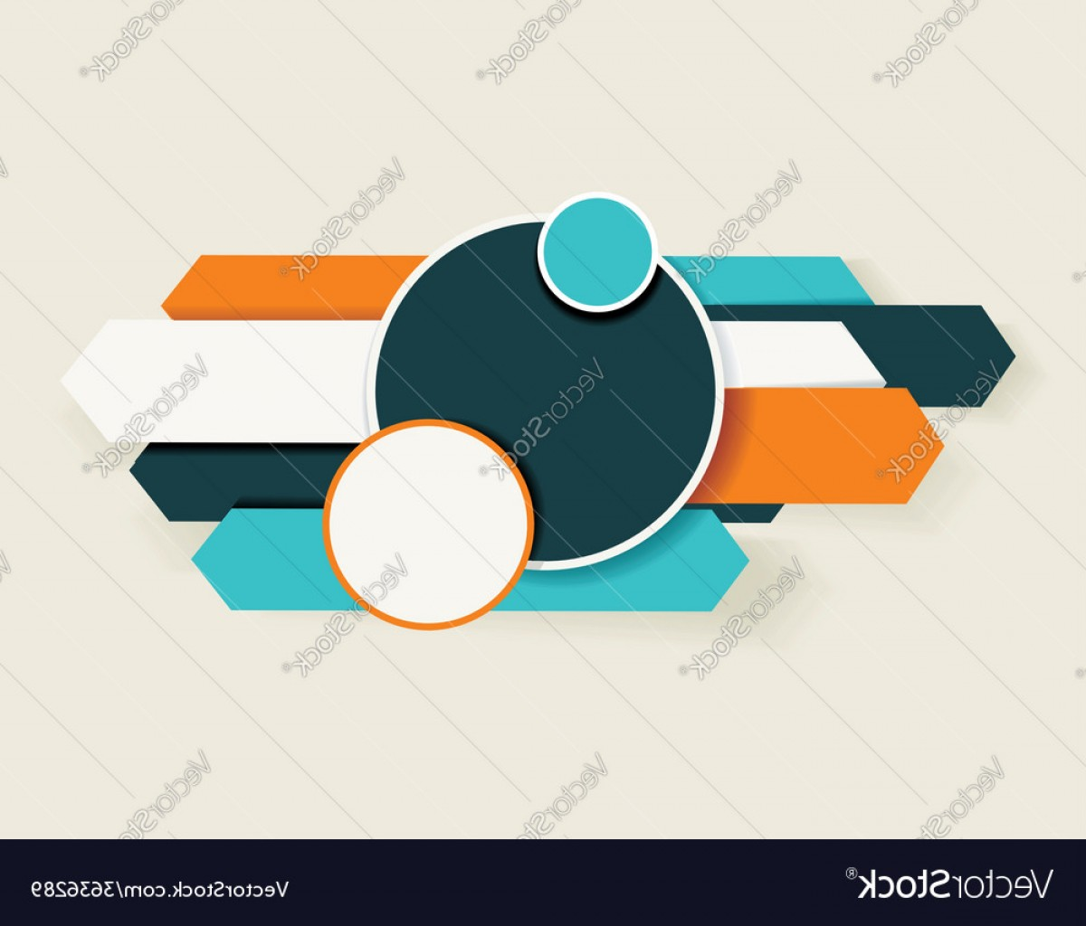 What Are Vectors Used For: Abstract Arrows And Circles Can Be Used For Vector
