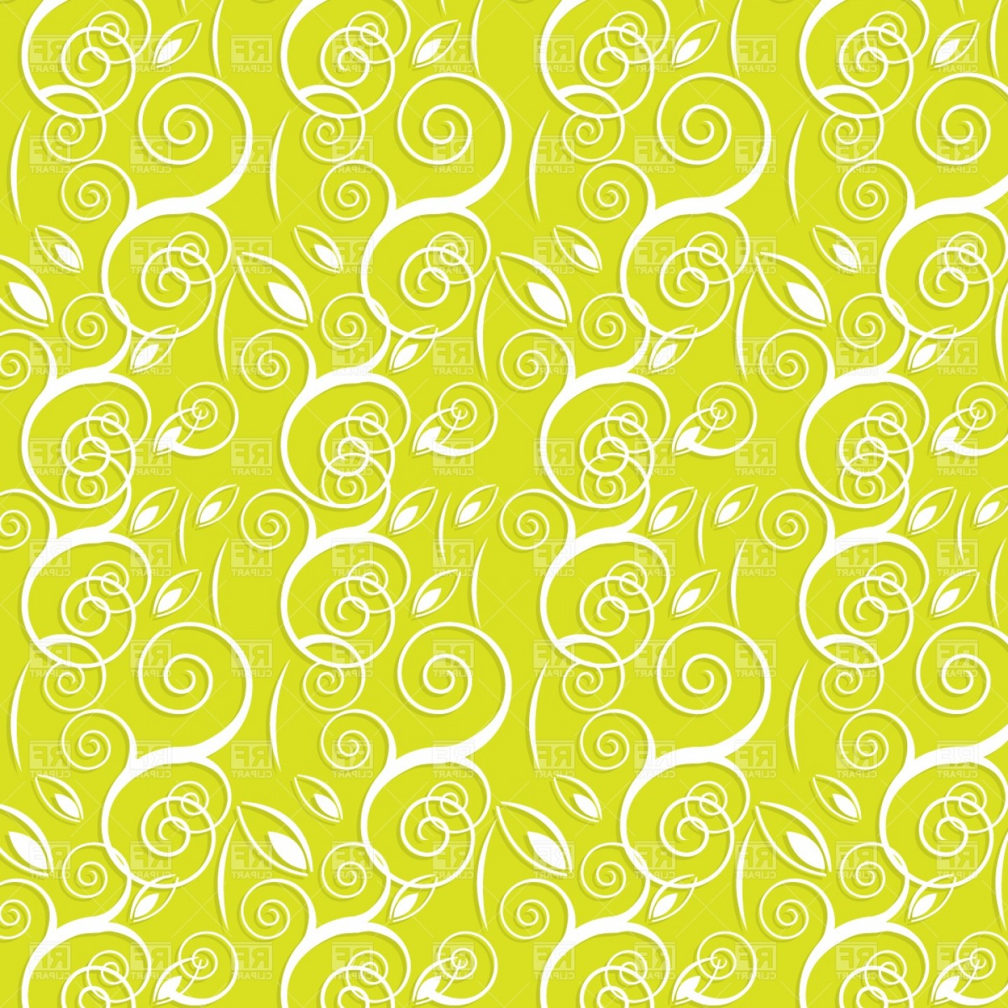 Free EPS Vector Art: Abstract Background With Floral Pattern Vector Clipart