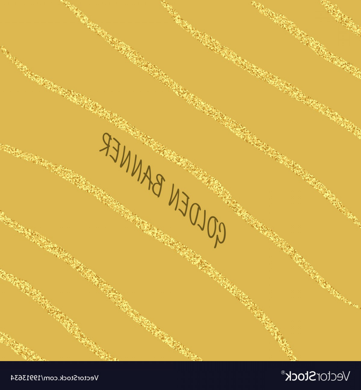 Vector Gold Dust: Abstract Background With Gold Dust Texture Vector