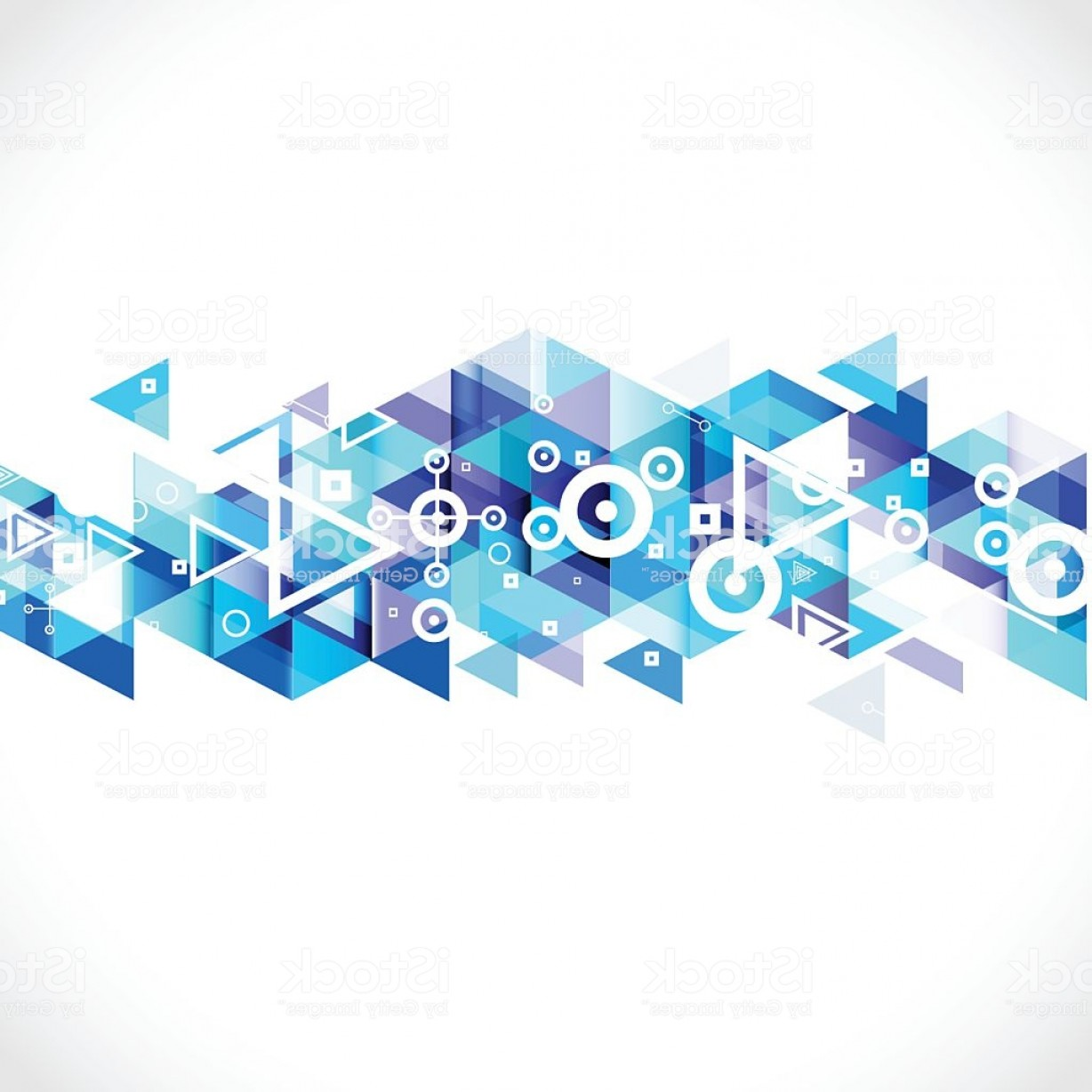 Free Technology Vector Graphics: Abstract Blue Geometric Strip Modern Graphic For Business Or Technology Gm
