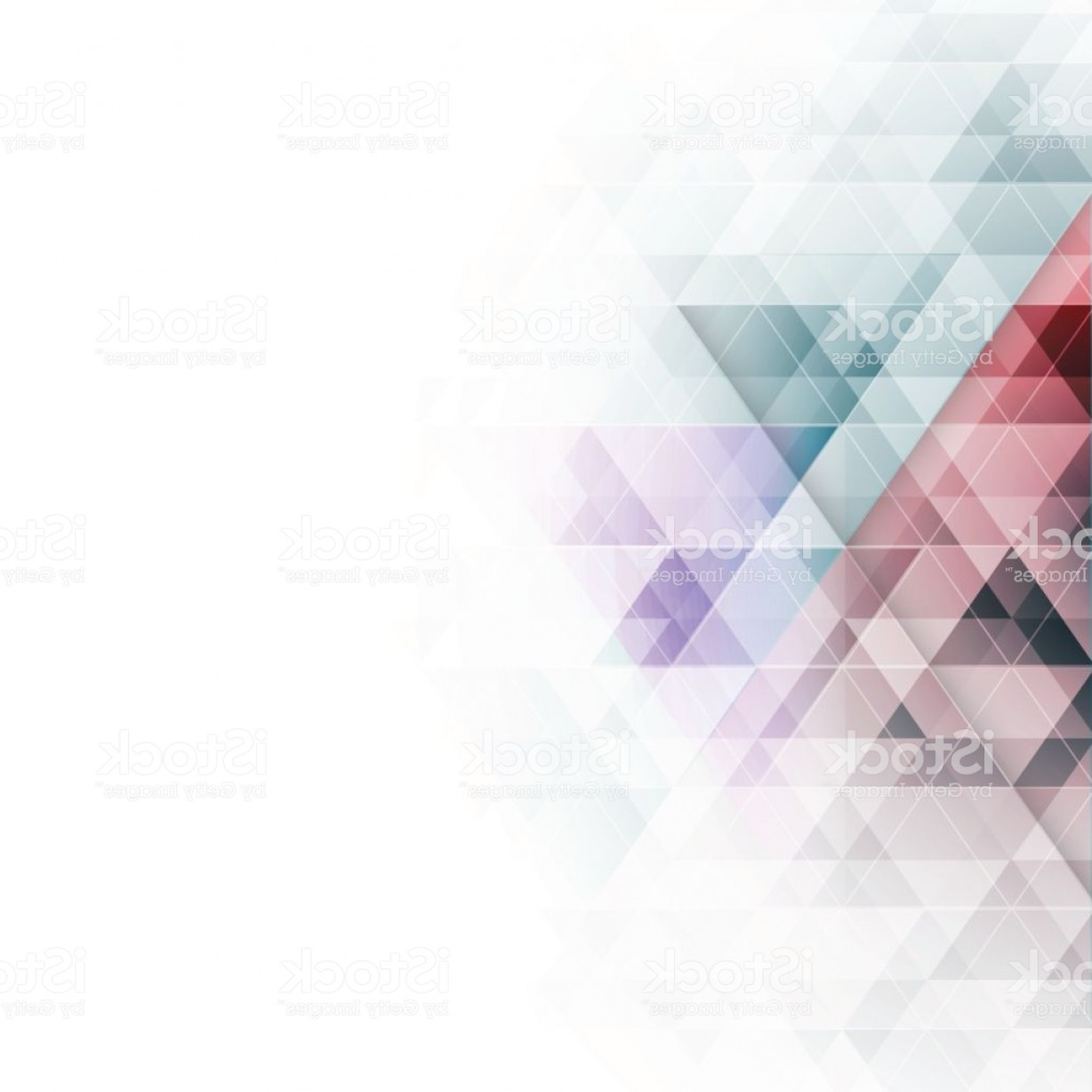 Backgroung Vector: Abstract Colorful Triangles Geometric Background Vector Illustration Gm