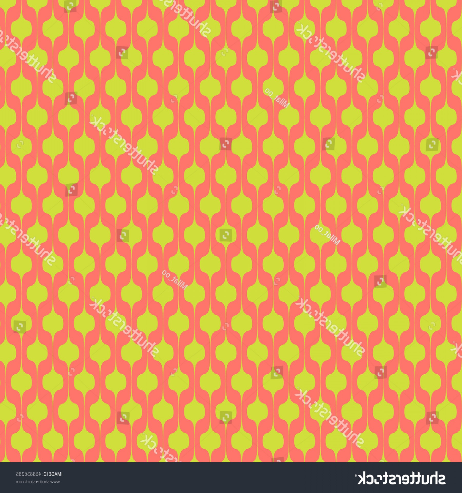 Distressed Red Background Vector: Abstract Distressed Art Deco Trellis Pattern