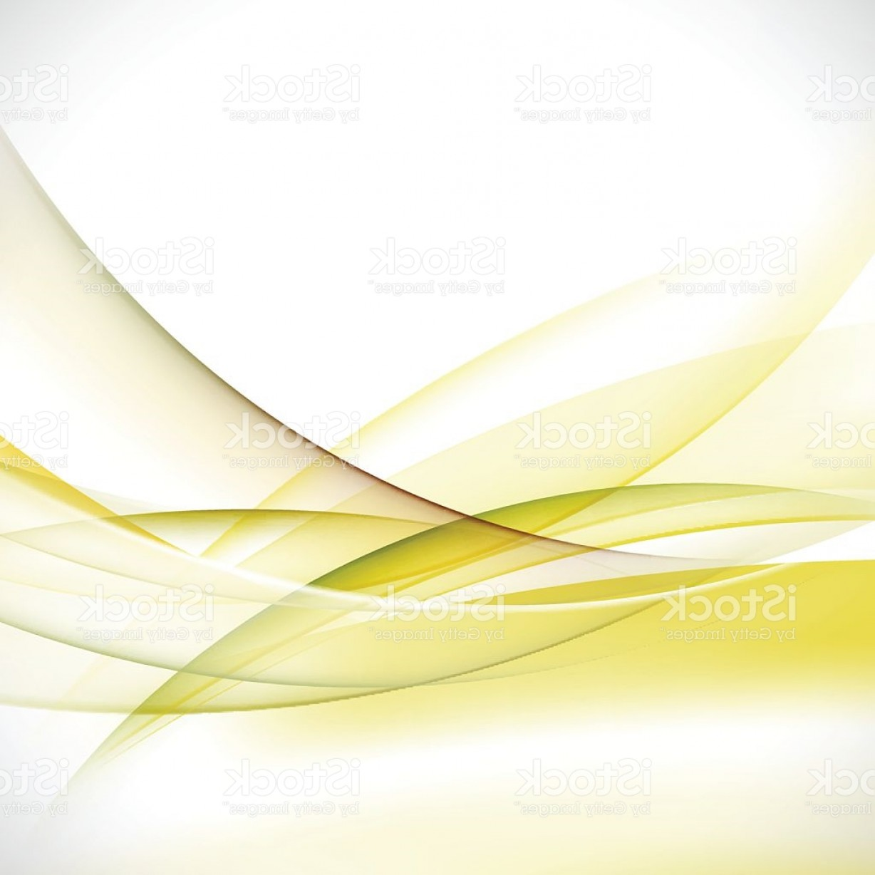 Vector Abstract Elegant Design: Abstract Elegant Green Wave Background Vector Illustration Gm