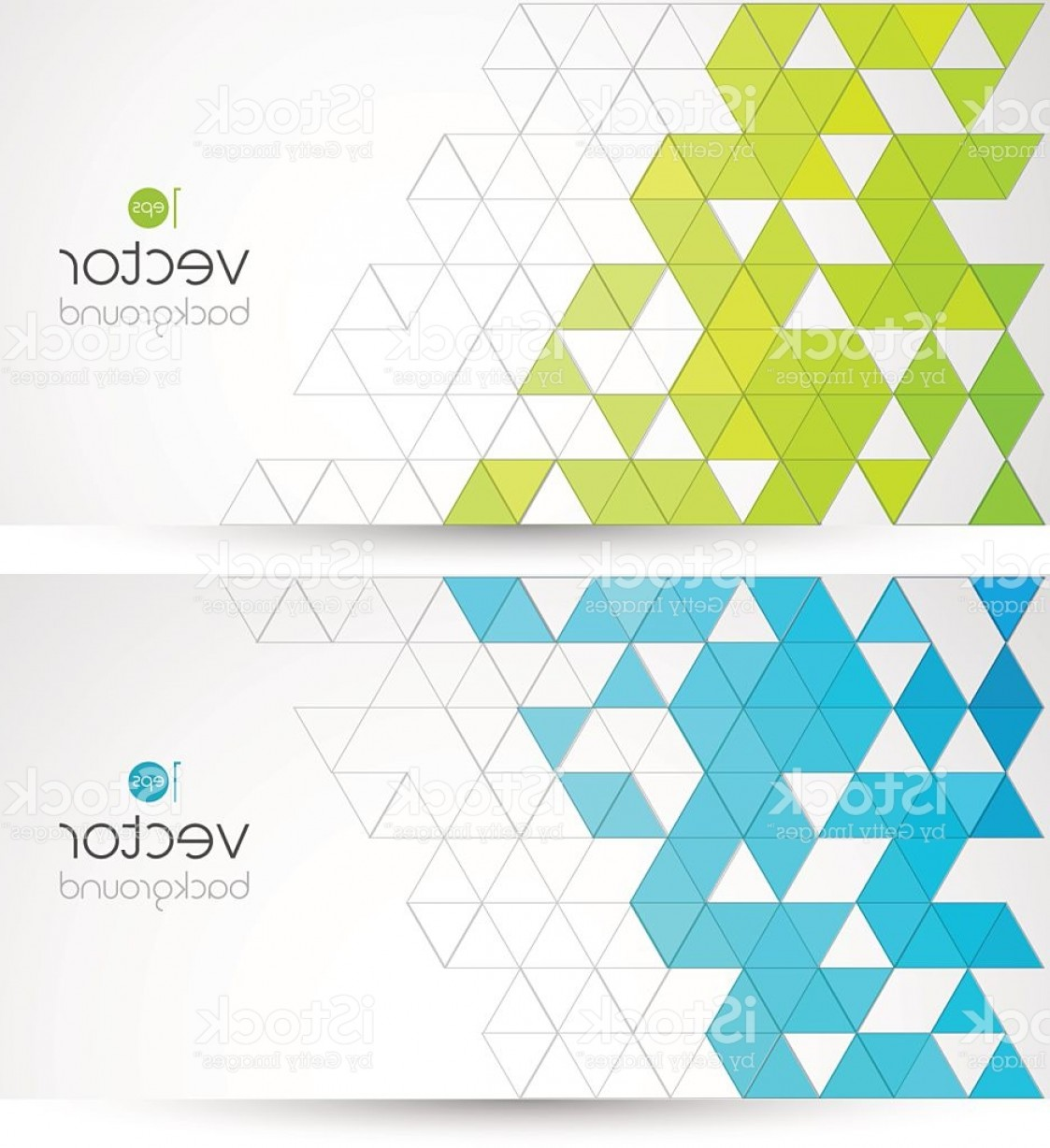 Free Abstract Vector Art: Abstract Geometric Background With Color Triangle Gm