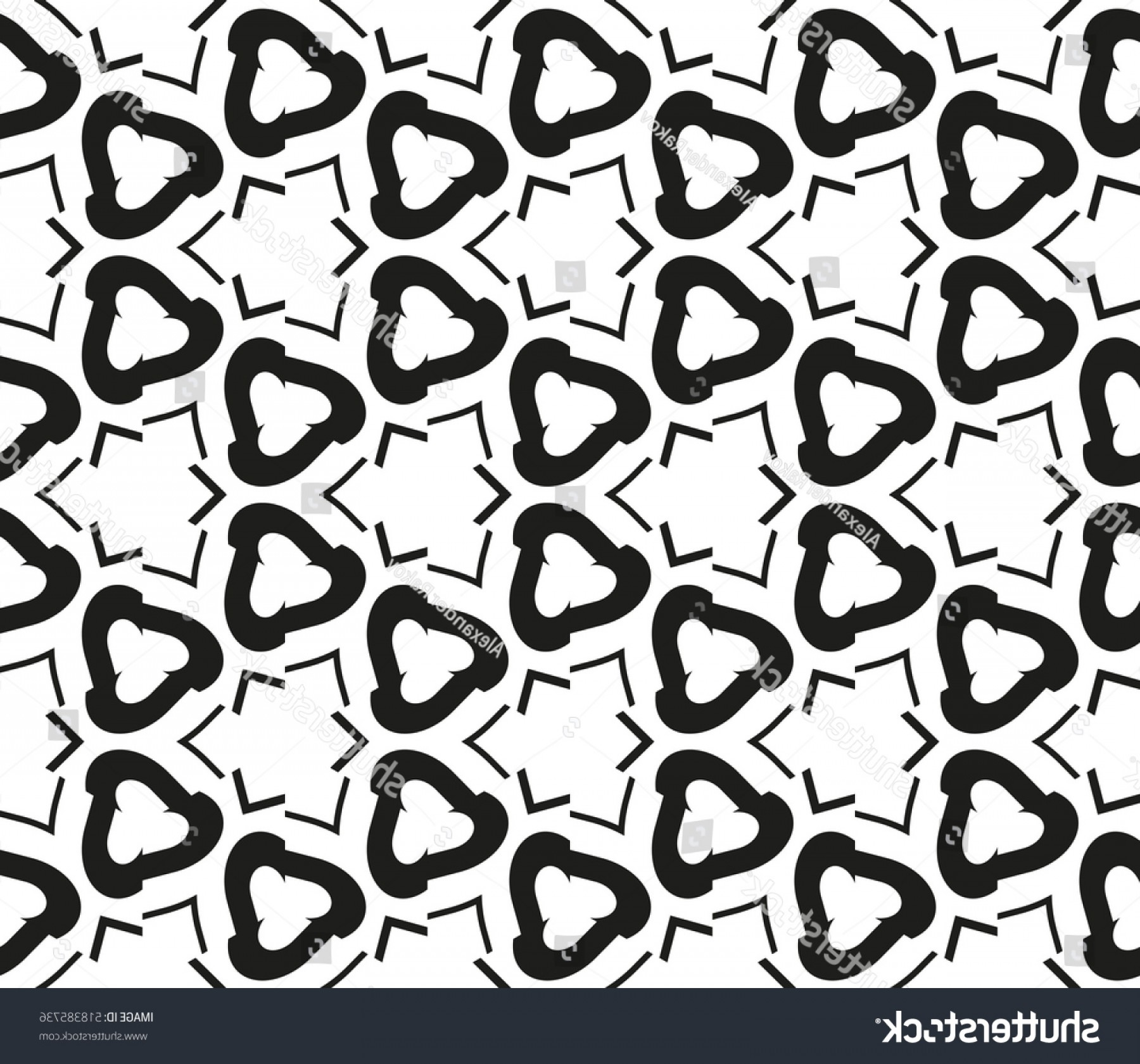 Vector Arabic Squiggly Line: Abstract Geometric Seamless Pattern Vector White
