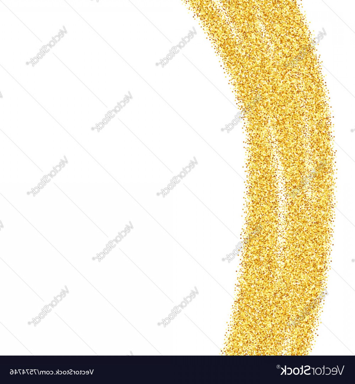 Vector Gold Dust: Abstract Gold Dust Glitter Background Vector