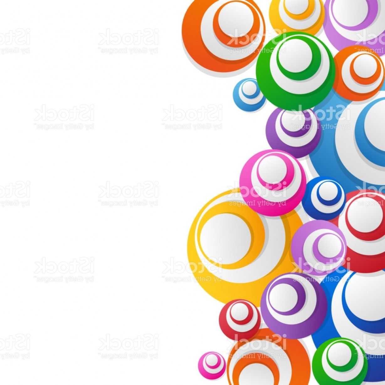 Free Abstract Vector Art: Abstract Hi Tech Background Circles Gm