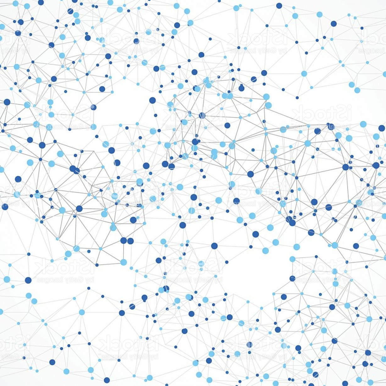 Free Abstract Vector Art: Abstract Polygonal Background With Connecting Dots And Lines Gm