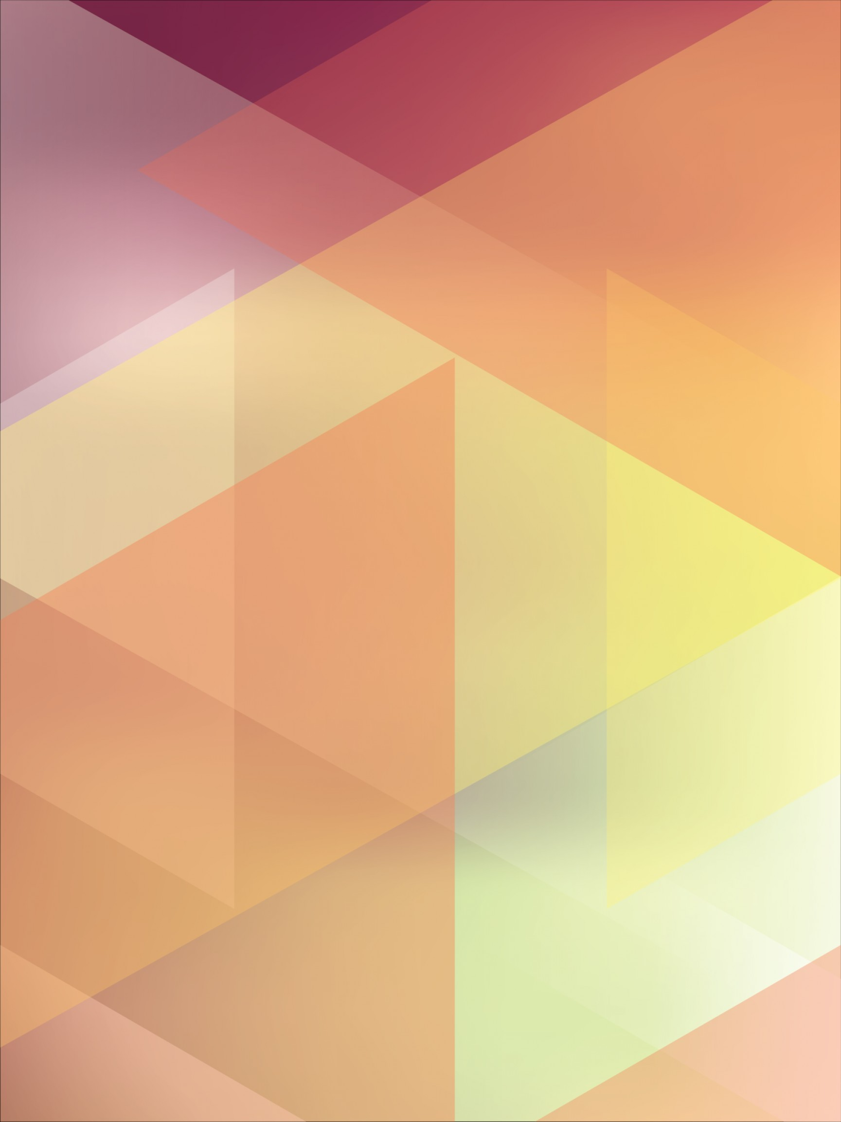Vector Geometric Abstract Shapes Phone Wallpapers: Abstract Prism Mobile Phone Wallpaper