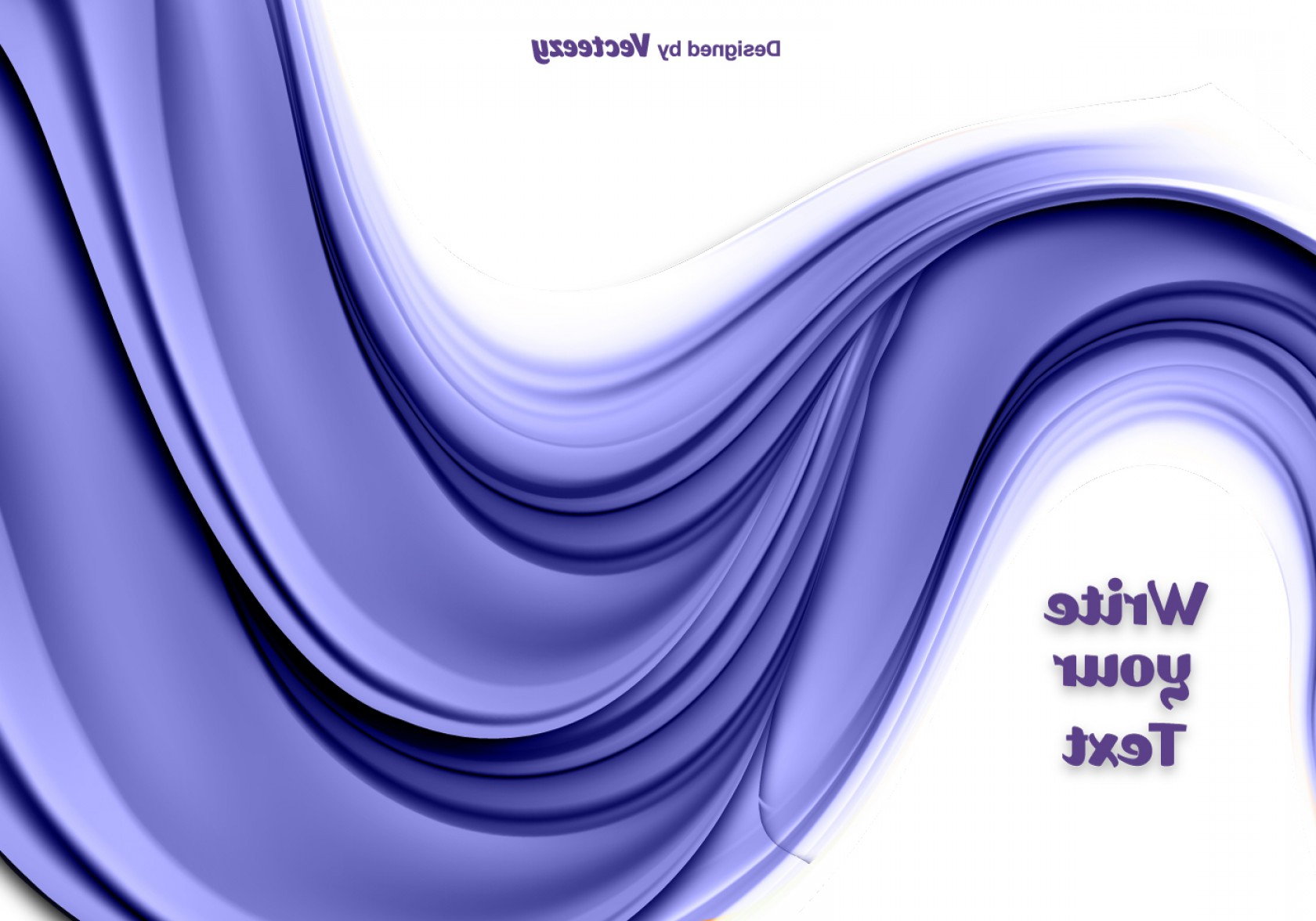 Vave Vector: Abstract Purple Flowing Wave Vector