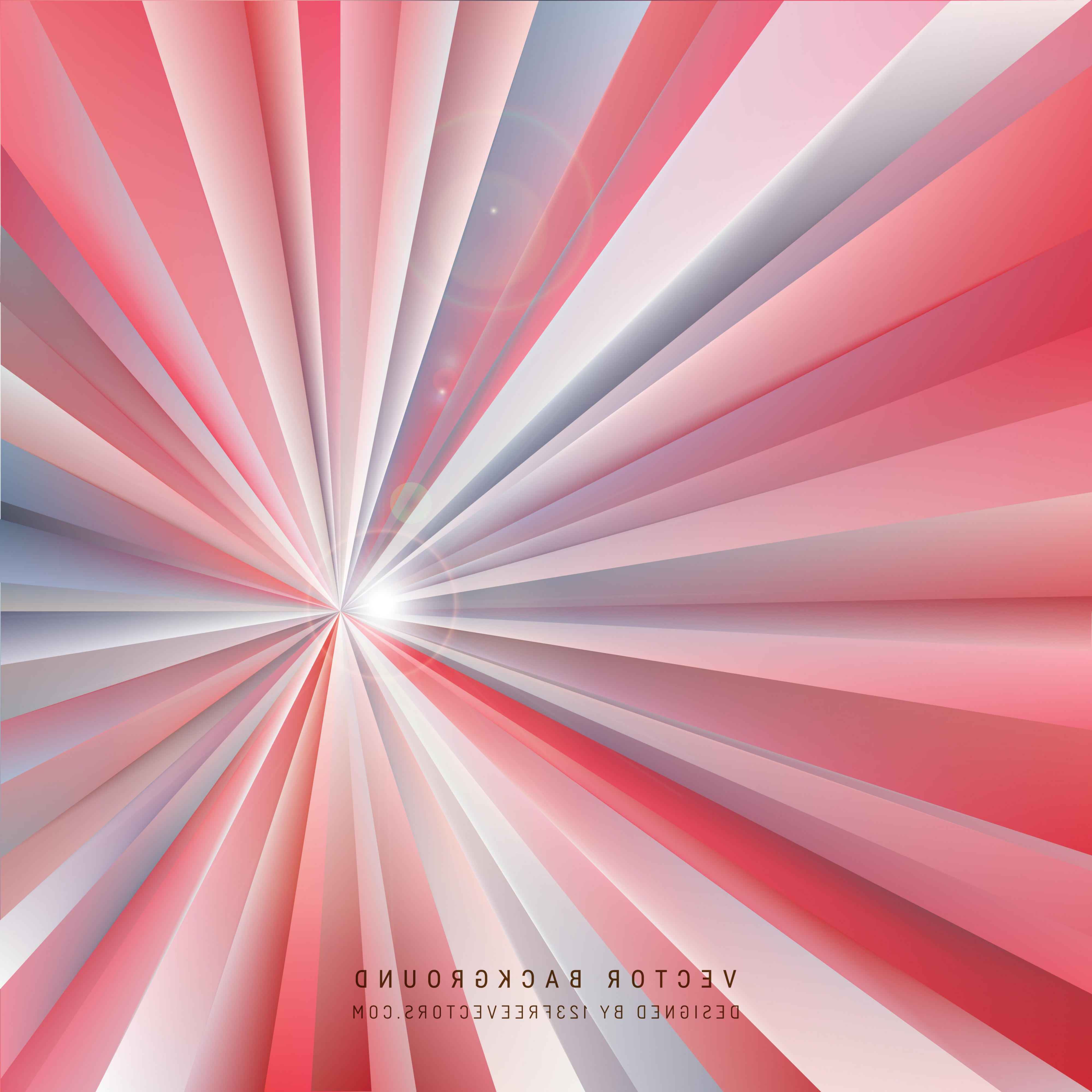 Free Vector Backgrounds Illustrator: Abstract Red Light Rays Background Illustrator