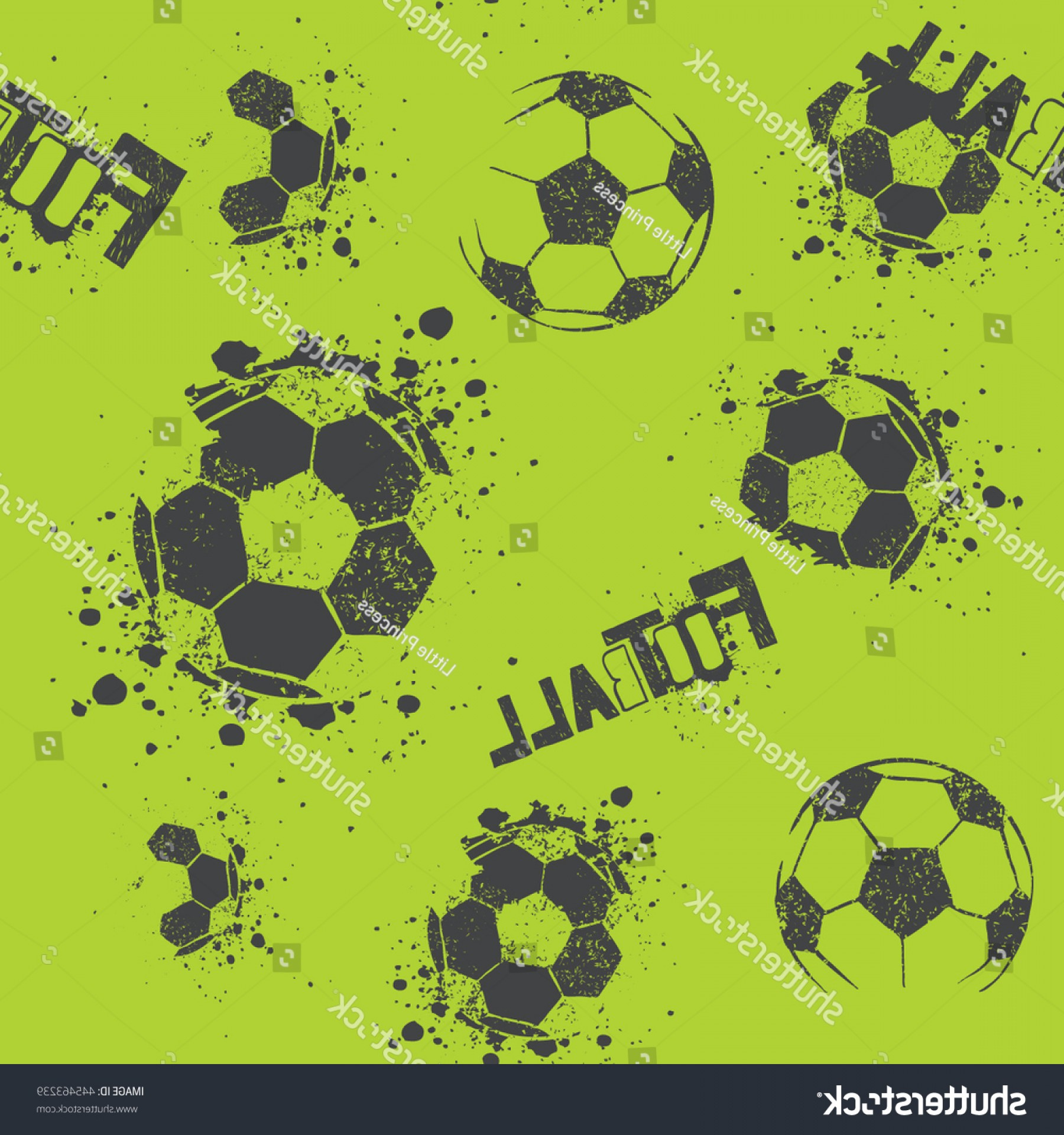 Football Vector Wallpaper: Abstract Seamless Pattern Boys Grunge Urban