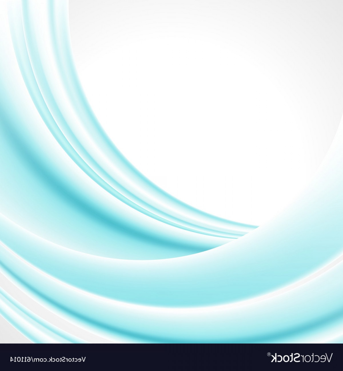 Backgroung Vector: Abstract Smooth Light Lines Background Vector