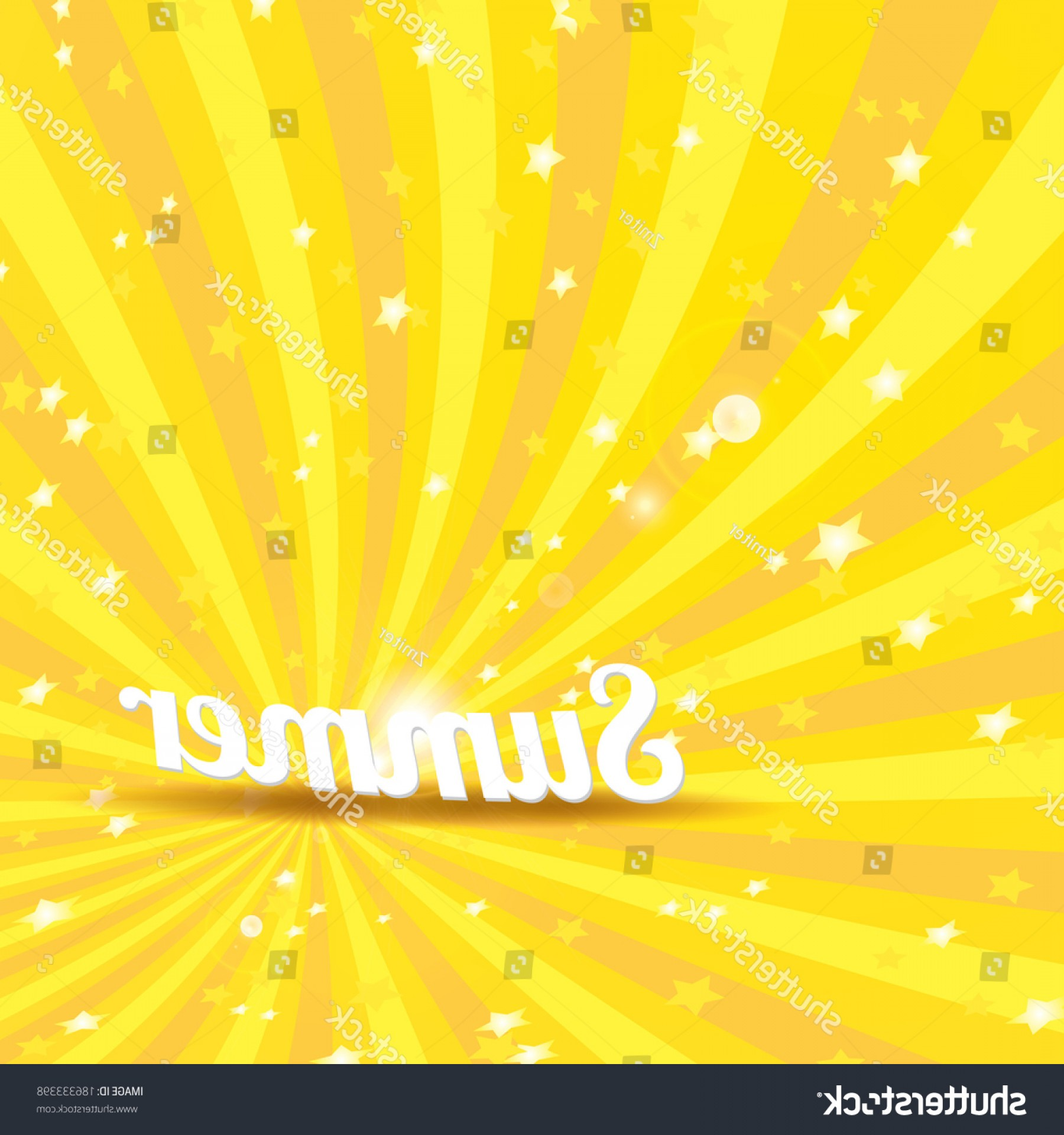 Grunge Vector Rays: Abstract Summer Vector Rays Background Word