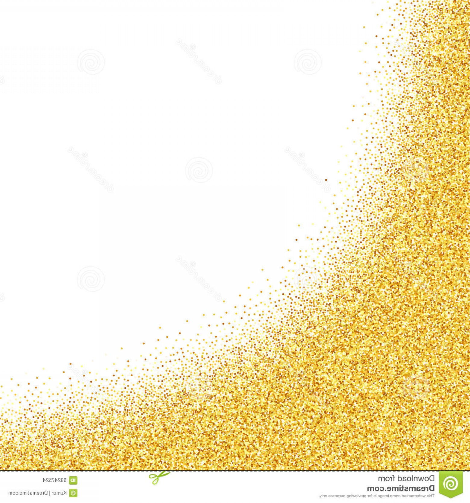 Vector Gold Dust: Abstract Vector Gold Dust Glitter Background Illustration