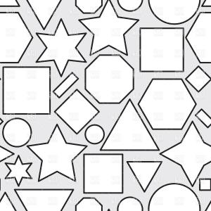 Geometric Vector B2: Ethnic Geometric Abstract Print Vector Clipart