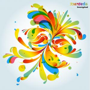 Free Abstract Vector Art: Abstract Line Pattern Background Gm