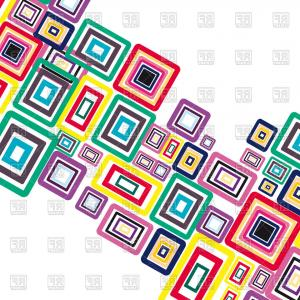 Geometric Vector B2: Abstract Geometric Seamless Pattern Vector Clipart