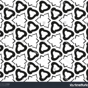 Vector Arabic Squiggly Line: Abstract Arabic Calligraphic Seamless Pattern Vector