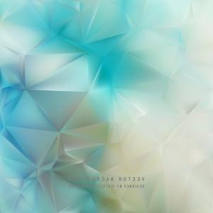Turquoise Photoshop Vectors: Abstract Light Turquoise Polygonal Background Design