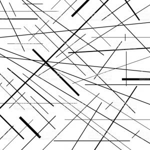 Black Abstract Lines Vector: Abstract Lines On White Background Line