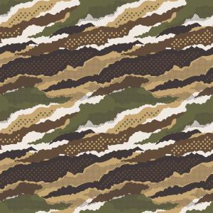 Camouflage Vector Sport Spot: Abstract Mimetic Dotted Camouflage Wallpaper Vector
