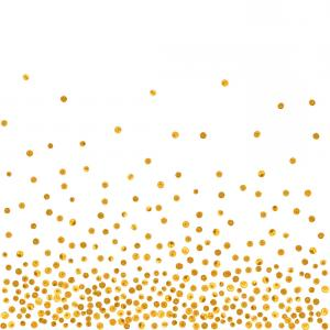 Random Dot Vector: Abstract Pattern Of Random Silver Dots Vector