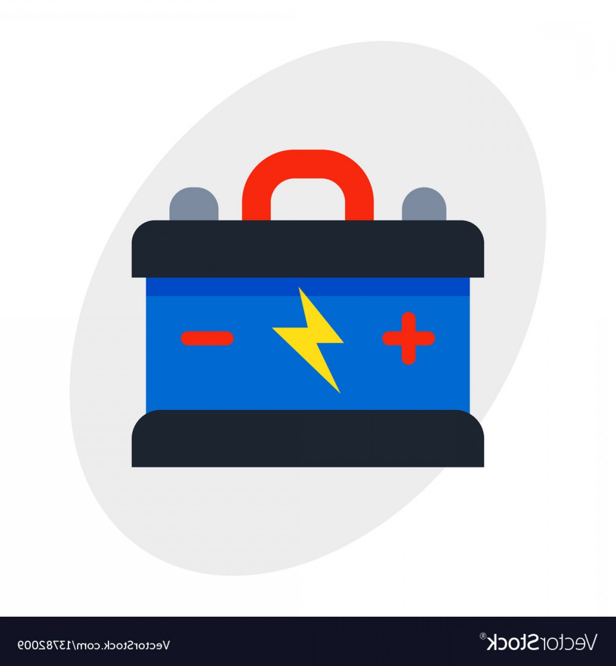Battery Electricity Vector Images: Accumulator Battery Energy Power And Electricity Vector