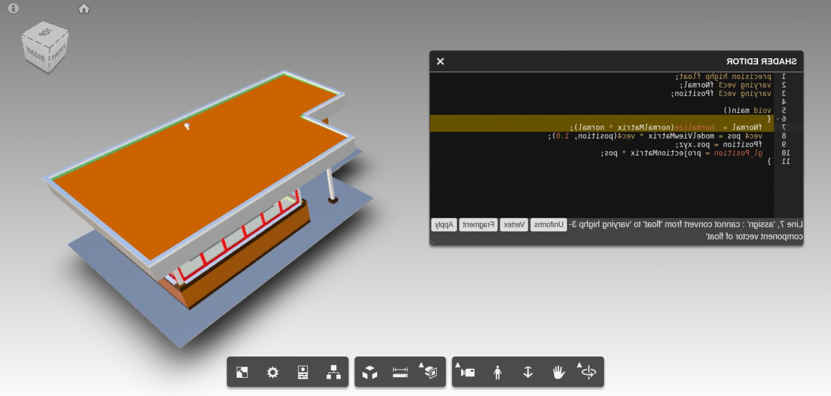 Vector Component Of XYZ: Ace Editor For Threejs Shadermaterials In The Forge Viewer