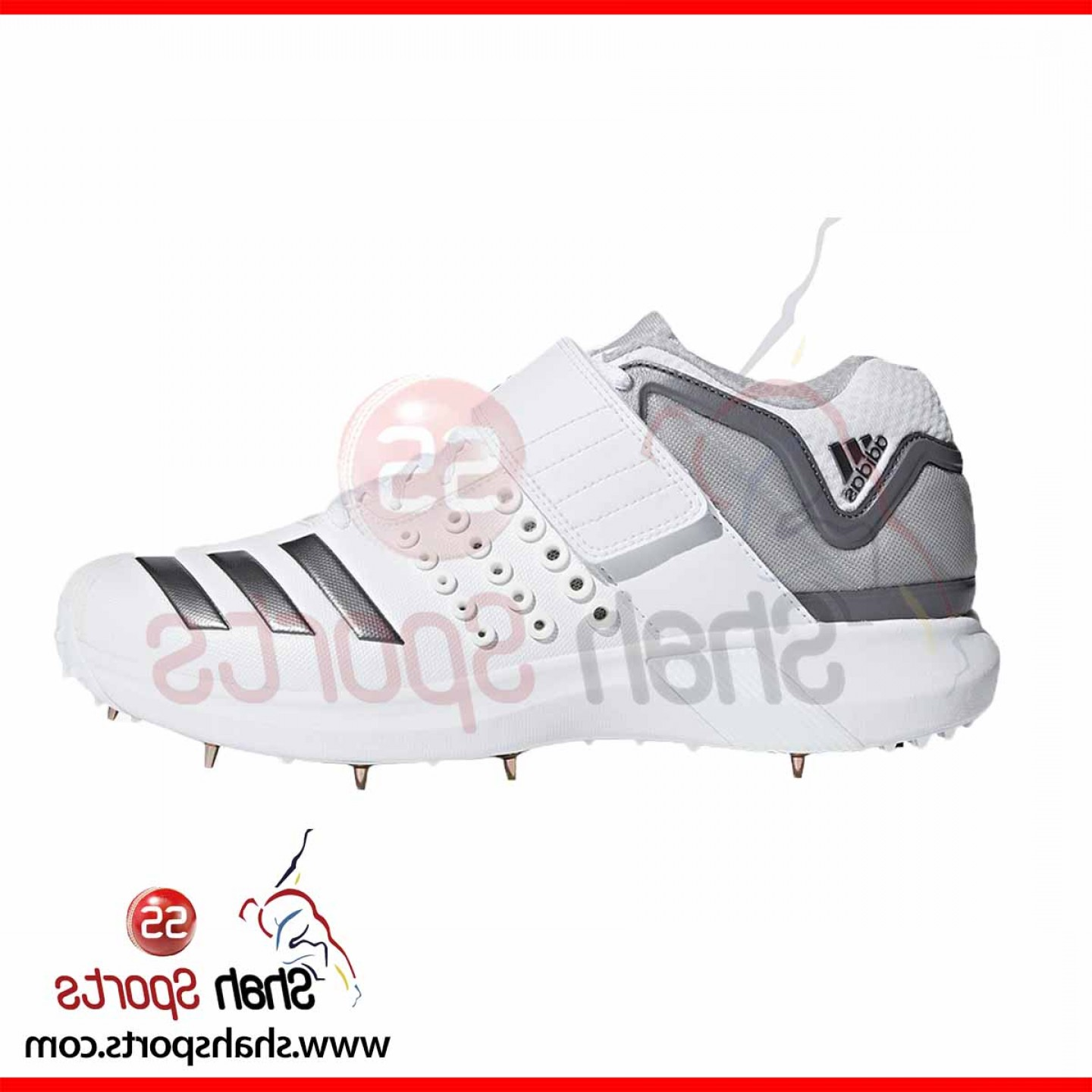 Adidas Brand Vector: Adidas Adipower Vector Mid Cricket Shoes