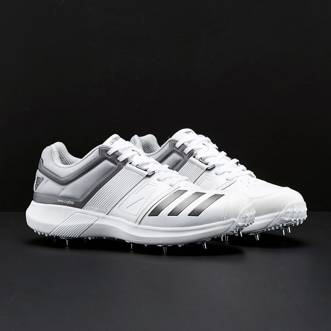 Adidas Brand Vector: Adidas Adipower Vector White Metallic Grey Mens Shoes Cm
