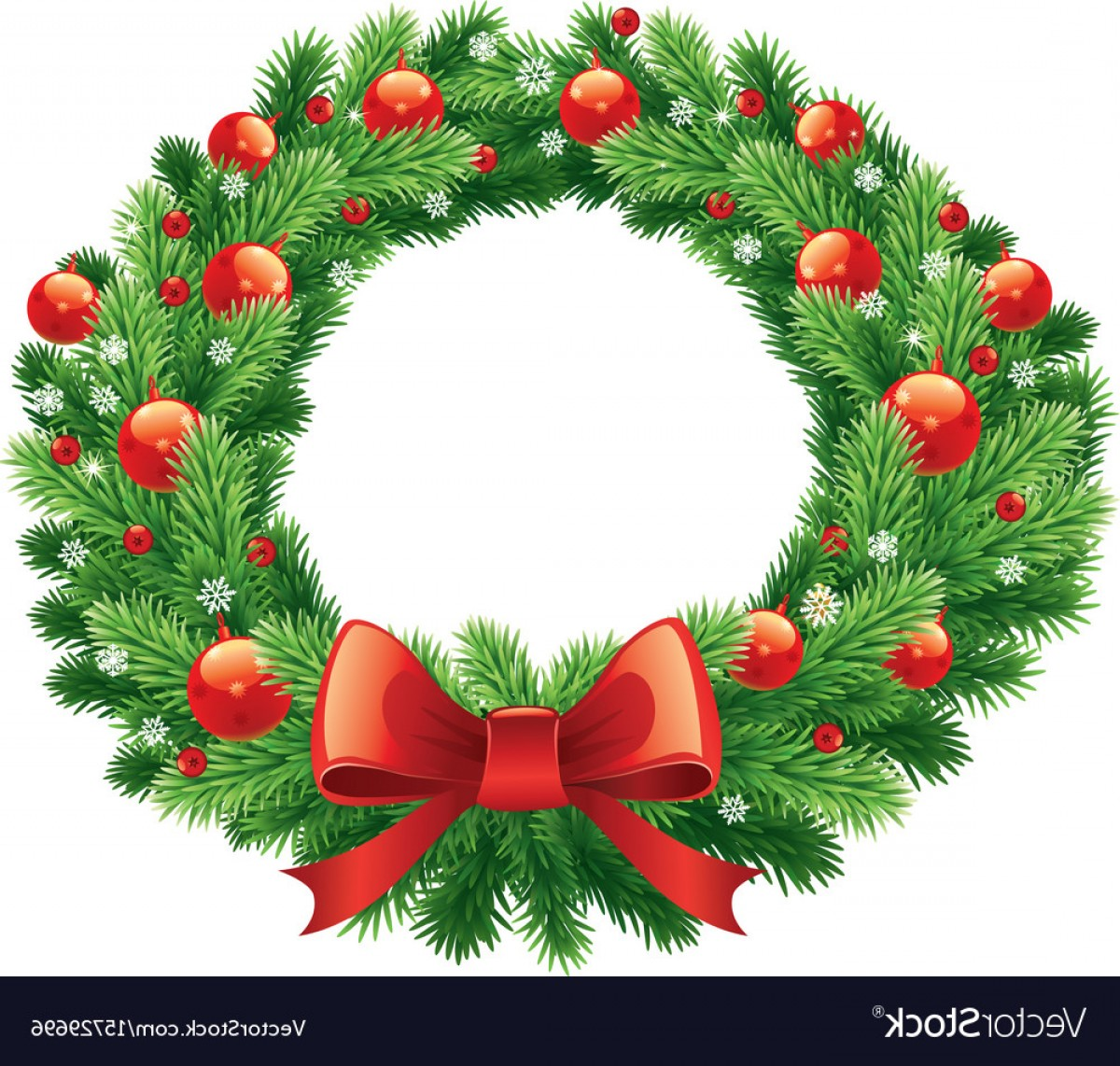 Advent Wreath Vector: Advent And Christmas Wreath Vector