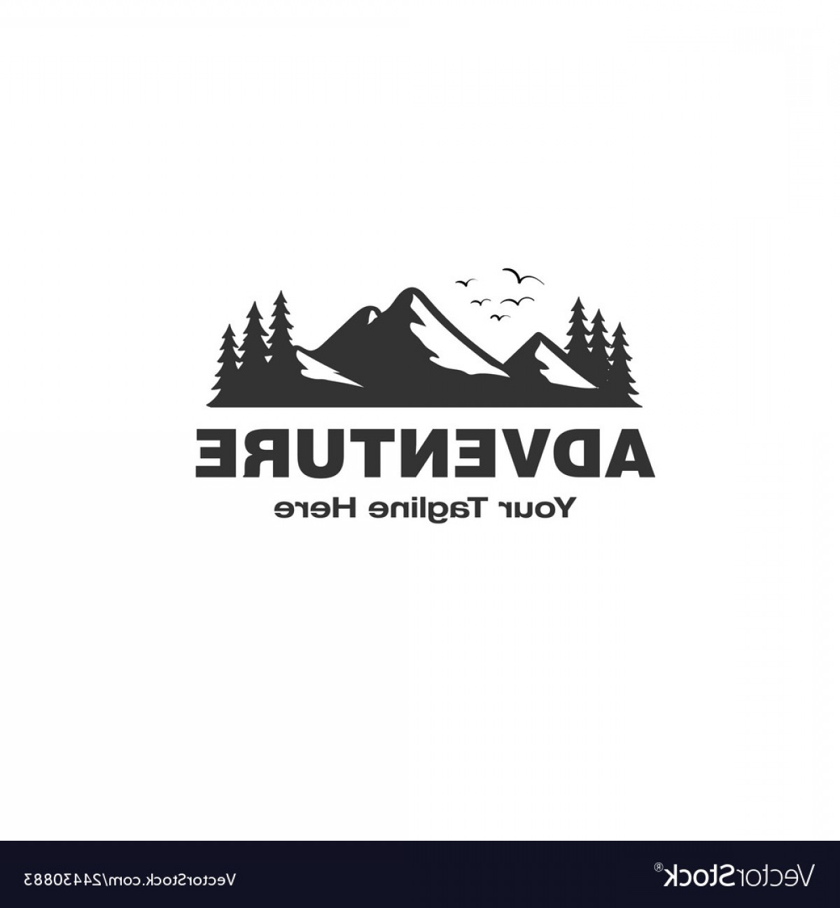 Hipster Logo Vectors Mountain: Adventure Logo Designs Inspirations With The Vector