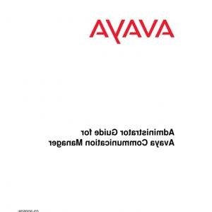 Avaya Vector Routing Table: Administrator Guide For Avaya Comm Manager