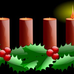 Advent Wreath Vector: Advent Sunday Advent Candle Advent Wreath First Su Vaafo