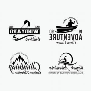 Creek Vector: Adventure Logo Badges Vector
