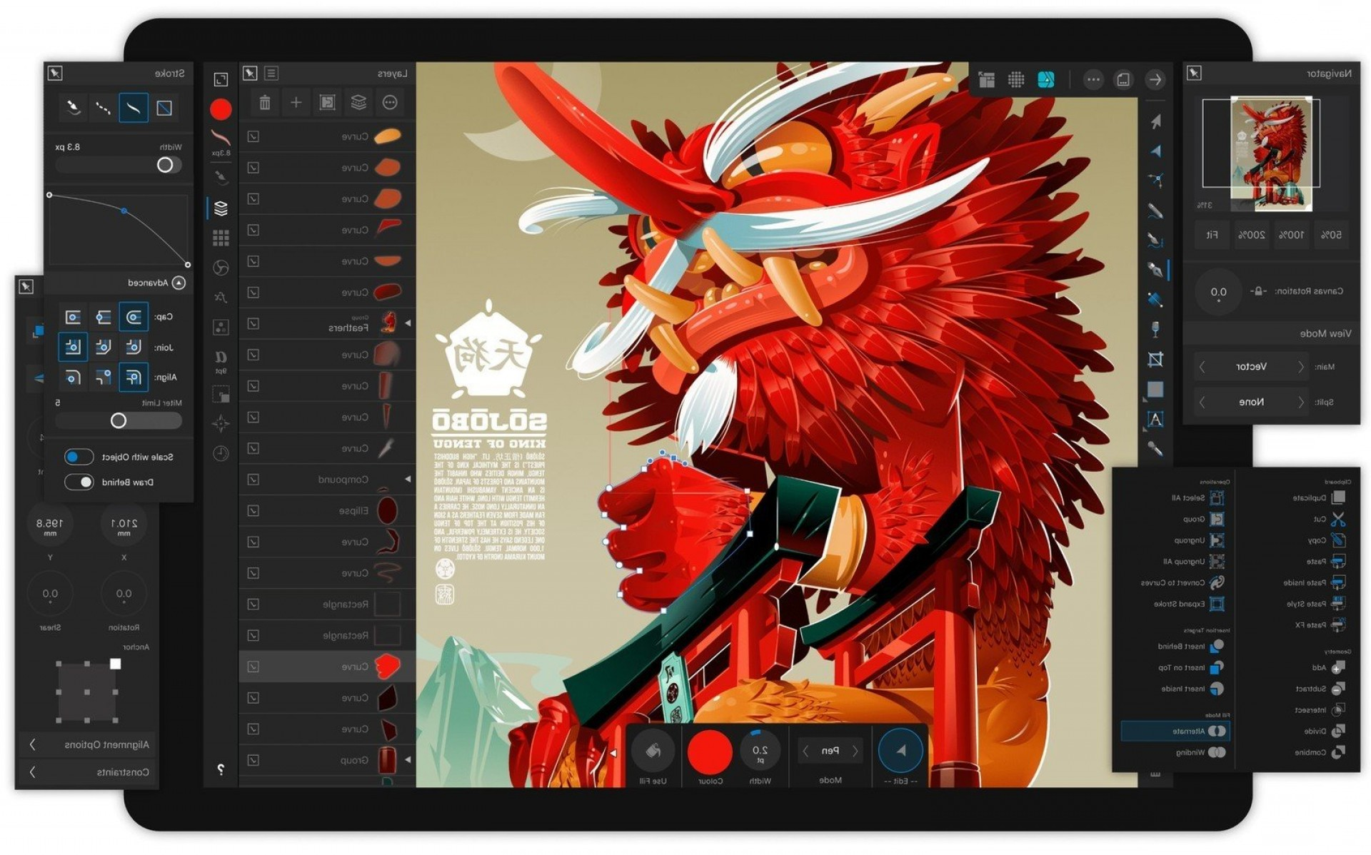 Vector Drawing App Windows 8: Affinity Designer Ipad Everything You Need Know