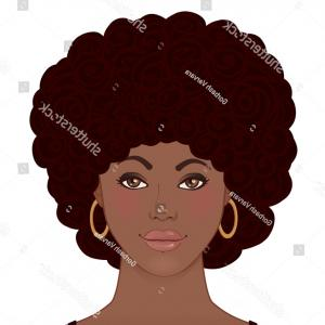 Black Woman Stock Vector: Pop Art Of A Black Woman Vector