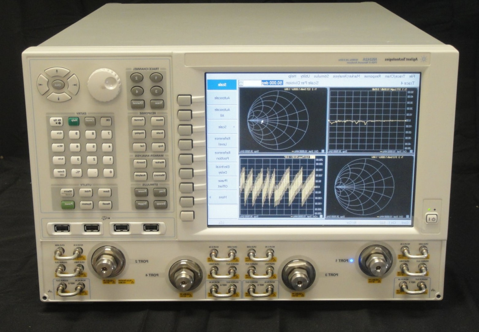Vector Network Analyzer: Agilent Keysight Na Pna X High Performance Vector Network Analyzer Mhz Ghz