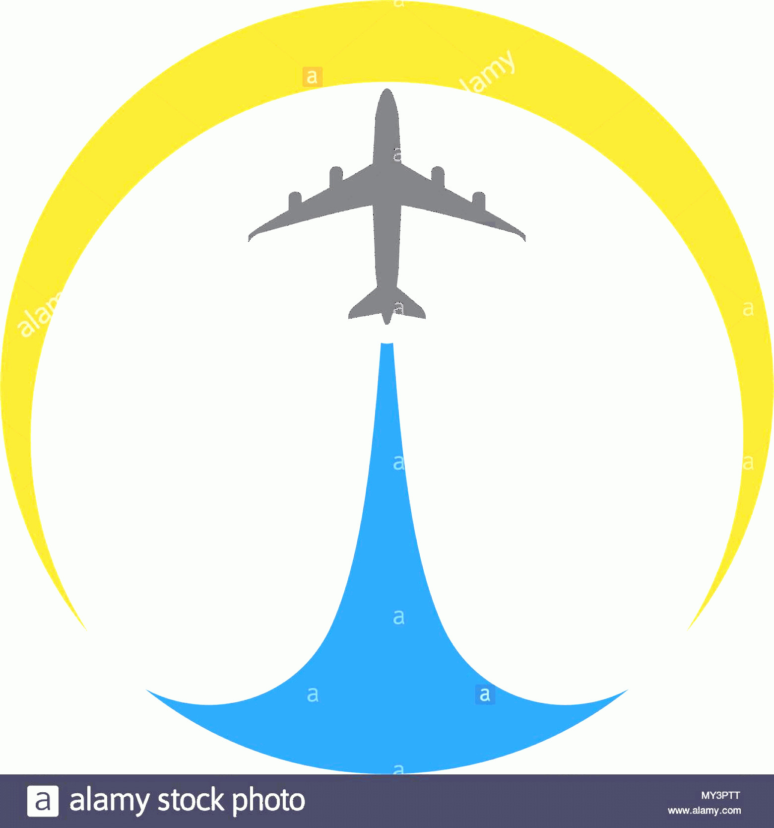 Aviation Vector Designs: Airplane Icon Vector Illustration Design Logo Template Image