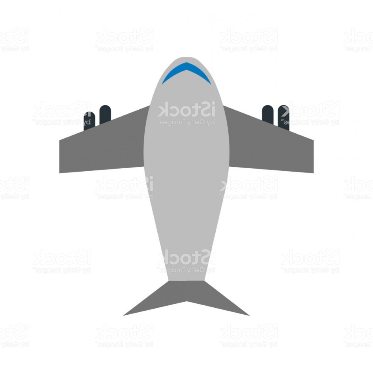 Vector X-15 Art: Airplane Icon Vector Sign And Symbol Isolated On White Background Airplane Logo Gm