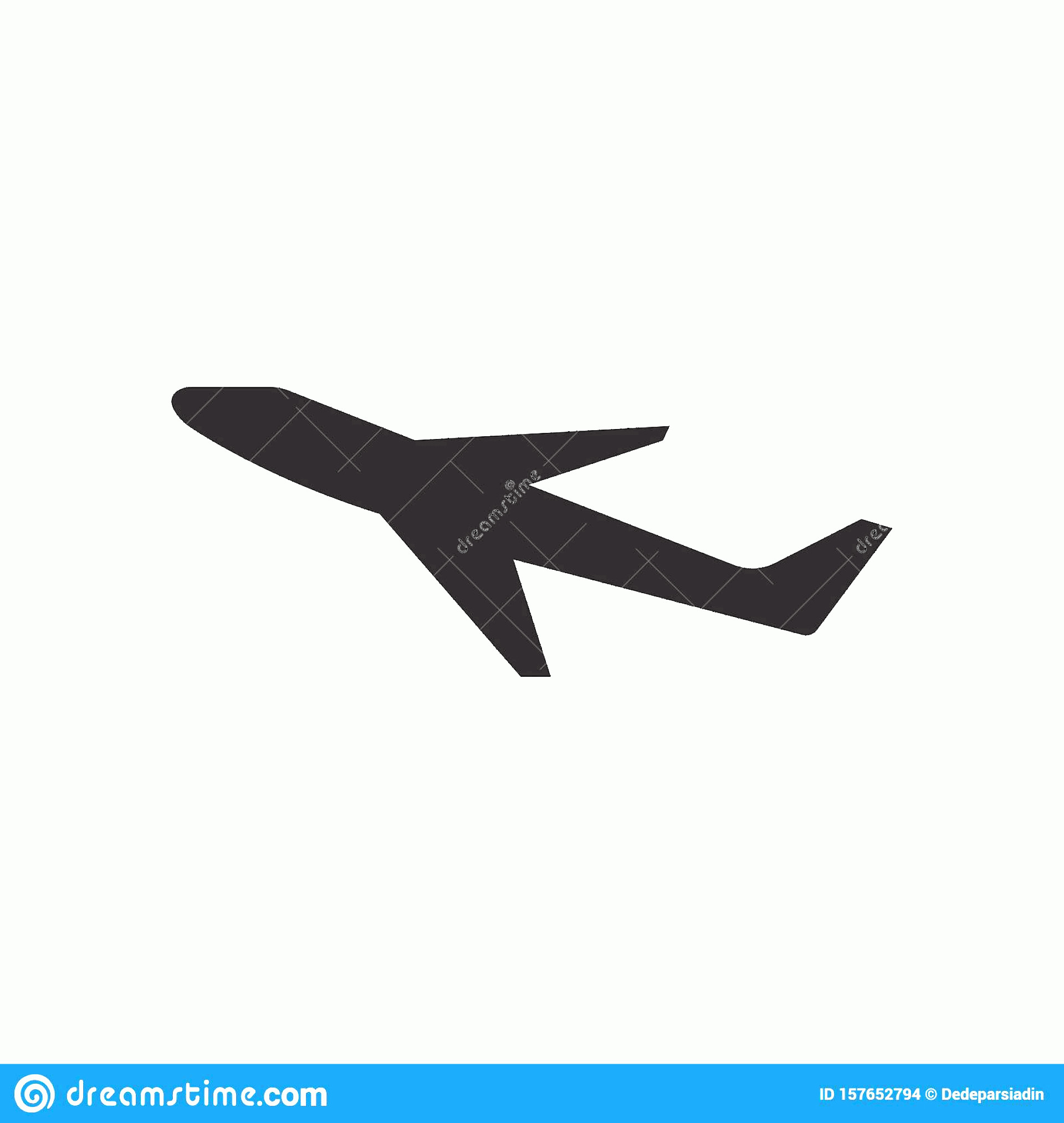Aviation Vector Designs: Airplane Logo Template Vector Illustration Icon Design Plane Landing Abstract Clean Journey Pilot Modern Turbine Aeroplane Simple Image