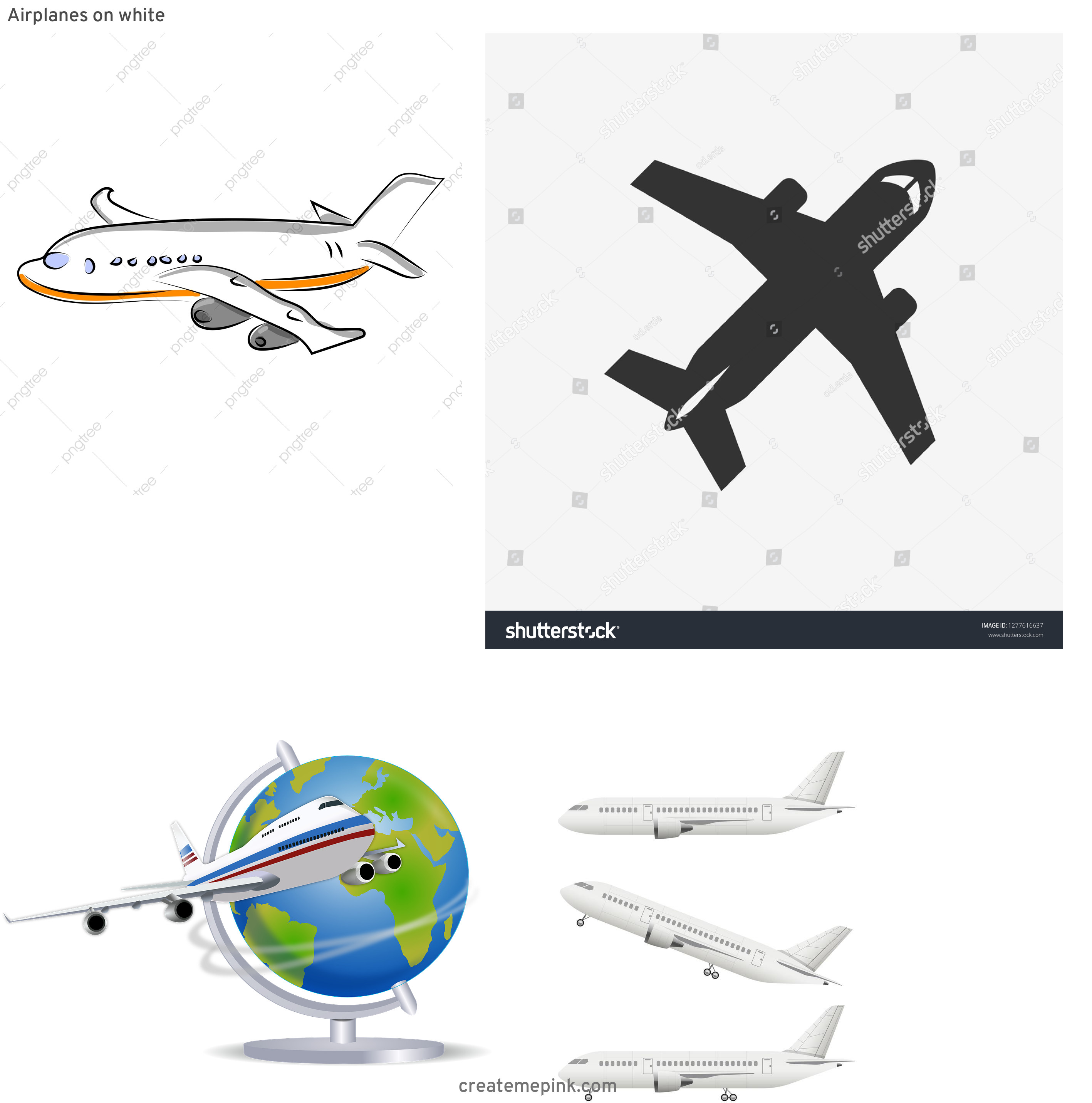 Vector Aerospace Airbus: Airplanes On White