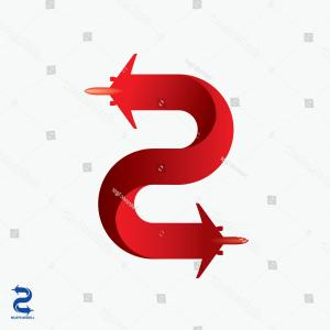 Letter S Vectors: Airline Logo Design Capital Letter S