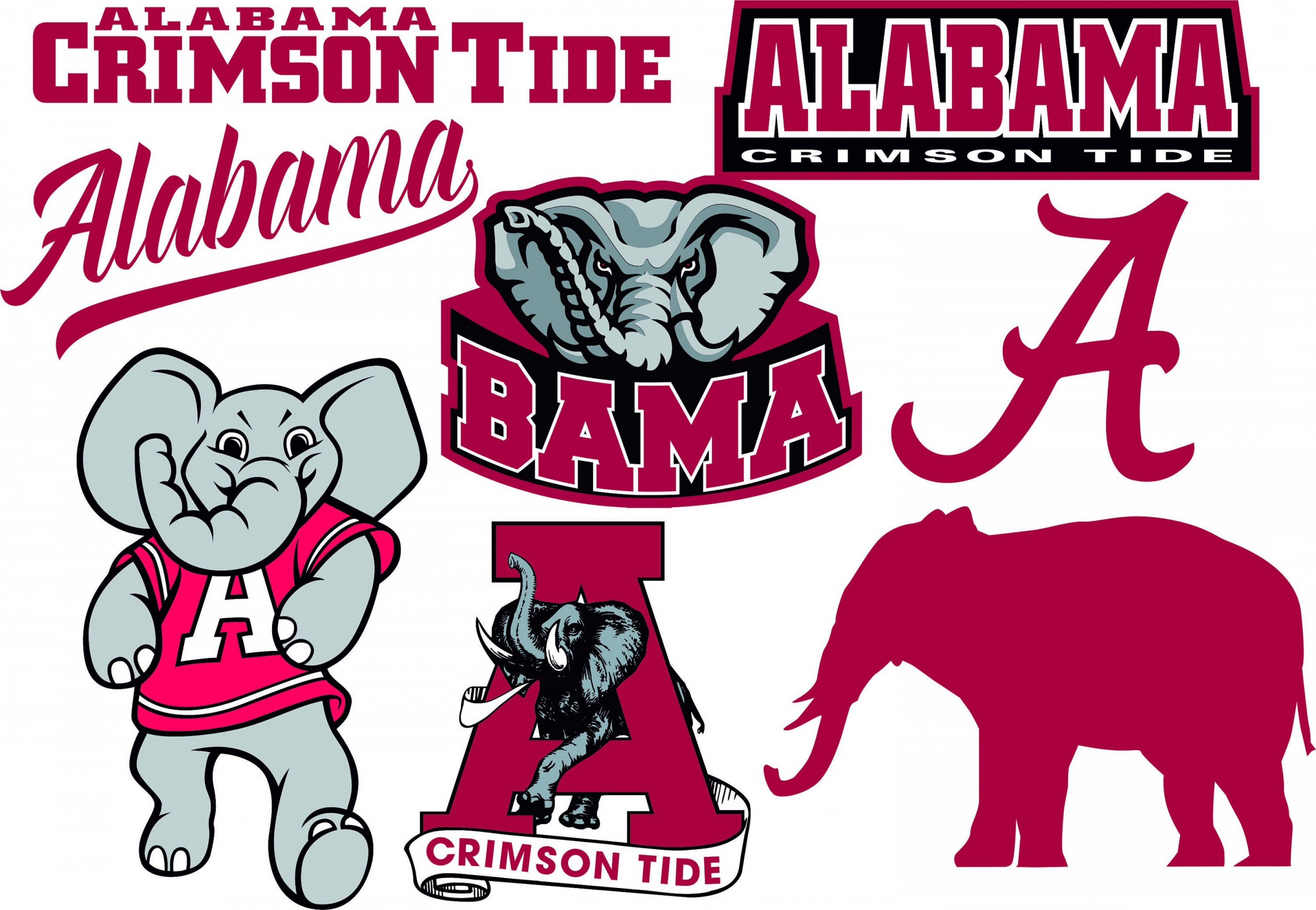 Crimson Tide Vector Art: Alabama Crimson Tide Svg Alabama Crimson